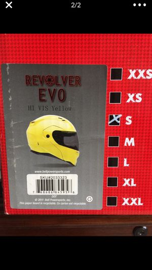 Small motorcycle helmet Bell Revolver for Sale in Longmont, CO