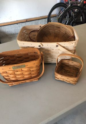 Longaberger baskets for Sale in Avon Lake, OH