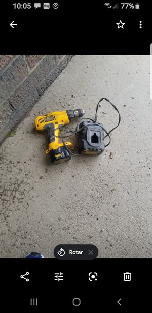 Dewalt hammer drill and charge for Sale in Columbus, OH