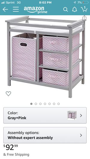 Diaper changing table for Sale in Lancaster, OH
