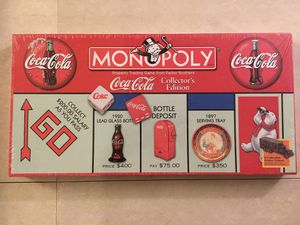 Coca-Cola Coke collectors edition monopoly game brand new sealed for Sale in Richmond Heights, OH