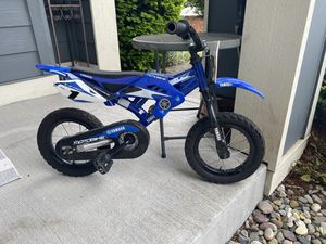"12"" kids Yamaha Pedal Dirt Bicycle for Sale in Brier, WA"