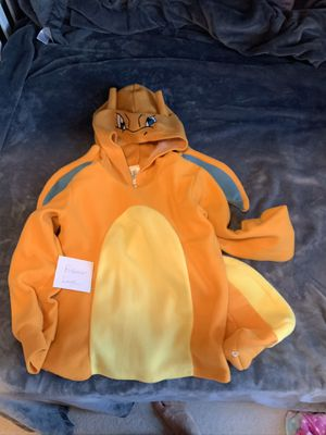 Pokémon hooded sweatshirt / costume, Charizard for Sale in Mukilteo, WA