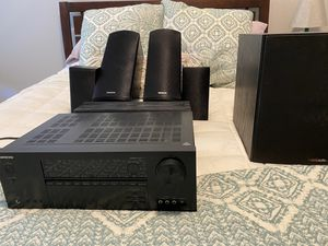 5.1.2 Dolby Atmos Surround Sound System with upgraded Subwoofer and stands for Sale in Austin, TX