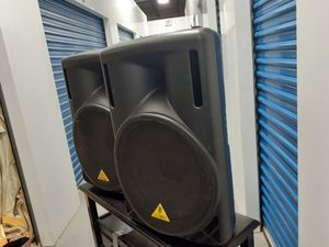 """BEHRINGER powered B215 D Active 550 watts 2 way system with 15"""" woofer and 1.35"""" compression Drive for Sale in Lake Worth, FL"""