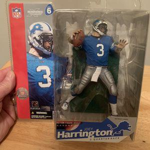 McFarlane Joey Harrington Detroit Lions 7inch Figure for Sale in Plainfield, IL