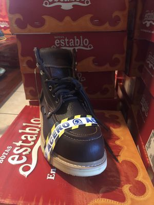 Establo Work Boots with steel toe for Sale in San Leandro, CA