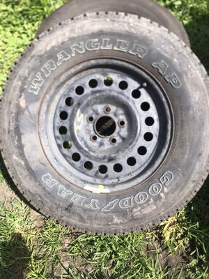 Rim and tire and rim for Sale in Norfolk, VA