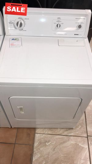 FIRST COME!!CONTACT TODAY! Electric Dryer Kenmore White #1488 for Sale in Aspen Hill, MD