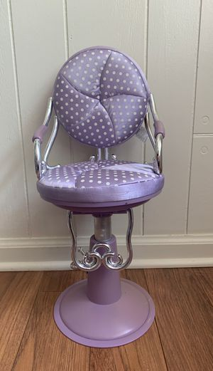 American girl doll hair stylist chair for Sale in Murfreesboro, TN