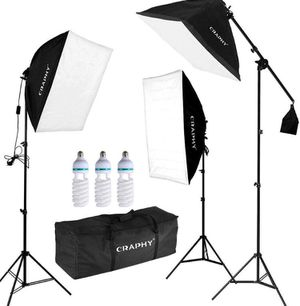 3 point softbox light set for Sale in Stockton, CA