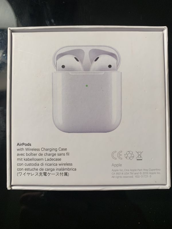 Brand New Apple AirPods 2nd Generation