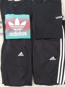 Youth Boys Tshirts/pants Adidas/Vans for Sale in Las Vegas,  NV