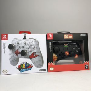 New PowerA Nintendo Switch Pro Wired Controller Super Mario Odyssey Super Mario 8 for Sale in North Miami, FL