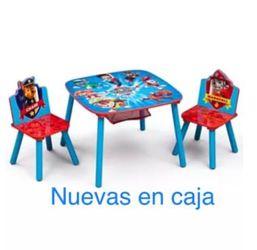 Tabl Kids Paw Patrol New In Imbox /Mesa Para Niños Nuev for Sale in San Lorenzo,  CA
