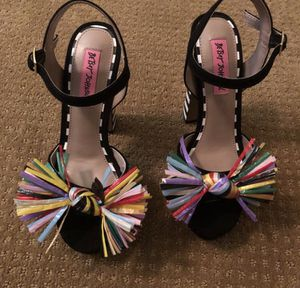 Betsey Johnson heels for Sale in Washington, DC