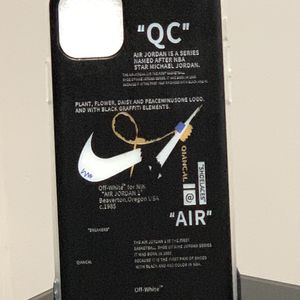 Nike off-white iPhone 11 light case for Sale in Champaign, IL