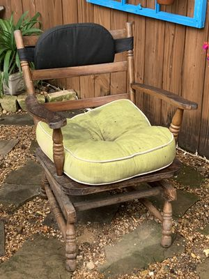 Vintage wooden chair for Sale in Longview, TX