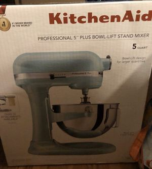 Kitchen aid mixer (teal) for Sale in Carson, CA
