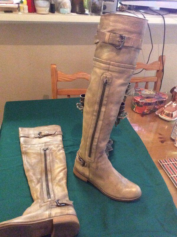 Steve Madden Leather Women's Boots 👢