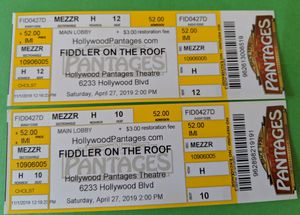 Fiddler on the Roof for Sale in La Habra Heights, CA