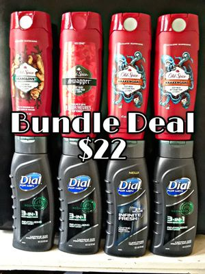 4 Old Spice, 4 Dial for Men Body Wash. for Sale in Columbus, OH