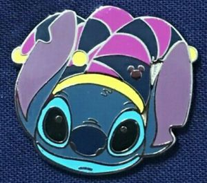 Disney Collectible Pin Hidden Mickey Mardi Gras Stitch 2015 Jester for Sale in Los Angeles, CA