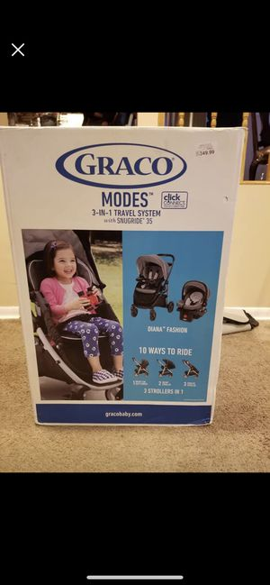 Graco Modes travel system - stroller and car seat for Sale in Philadelphia, PA