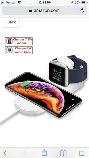 2 in 1 wireless charger for Sale in Island Park, NY