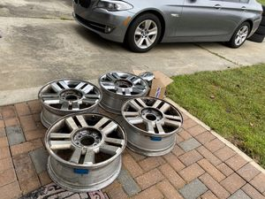 2004-2008 Set of 4 Ford F-150 Rims 18 INCH with sensors / Center Caps and Bolts for Sale in Ocean Township, NJ