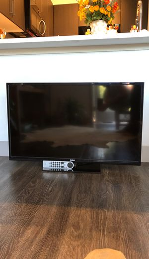 "RCA 40"" inch LED LCD HDTV Flat Screen TV Television with Remote HDMI Cable USB Component - $80 OBO for Sale in Phoenix, AZ"
