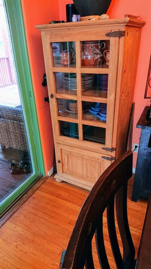 Solid wood Mexican hutch for Sale in San Diego, CA