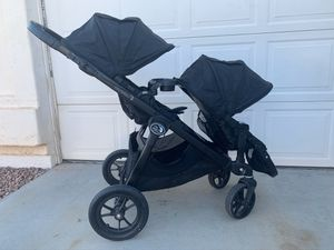All Black City Select Double Stroller for Sale in Chandler, AZ