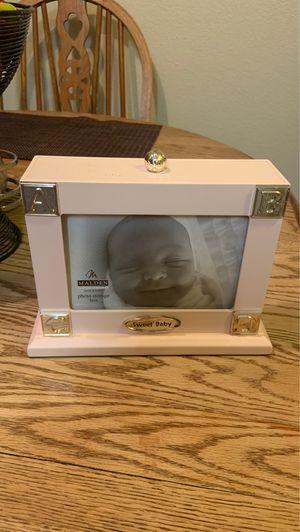 Baby photo dock frame for Sale in San Antonio, TX