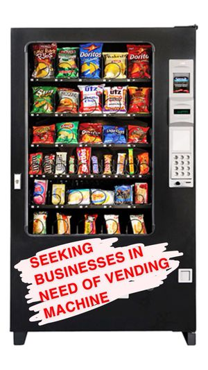 Does your business need a vending machine? for Sale in Annandale, VA