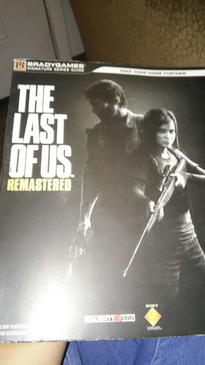 The last of us guide book for Sale in Phoenix, AZ