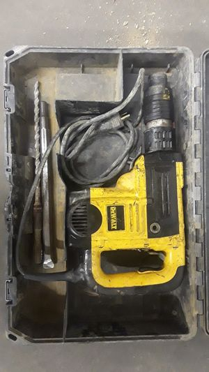 Dewalt rotary hammer for Sale in Des Moines, IA