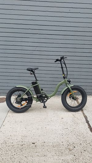 "NEW Foldable Electric Bicycle ""TJC"" 48V 500W for Sale in San Diego, CA"