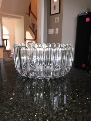 Crystal shiny serving bowl for Sale in Rockville, MD