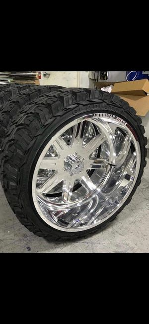 22x12Rines y llantas for Sale in Phoenix, AZ