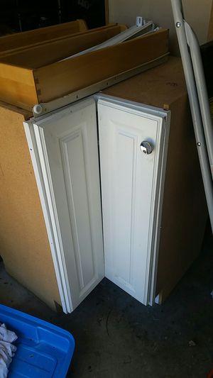 White corner Kitchen base cabinet for Sale in Virginia Beach, VA