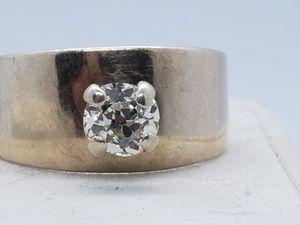 1ct diamond solitaire antique ring for Sale in Phoenix, AZ