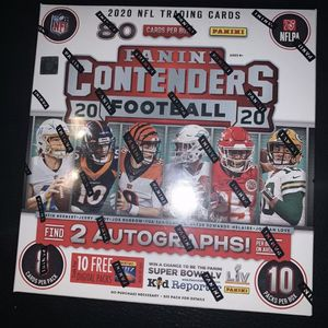 2020 Panini Contenders NFL Factory Sealed 10-Pack Mega Box - Fanatics Exclusive for Sale in Nipomo, CA
