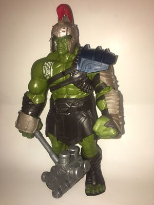 2017 marvel hulk action figure talks for Sale in Cary, NC