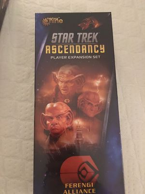 Star Trek - Ascendancy - Ferengui Alliance - expansion - Mint condition - Board Game for Sale in Fullerton, CA
