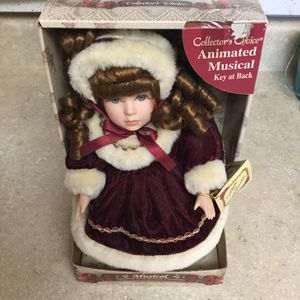 Collector's Choice Animated Musical Porcelain Doll for Sale in Port St. Lucie, FL