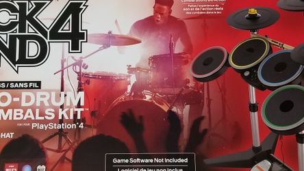 Rock Band 4 Drums and Cymbals + Game for Sale in Centreville,  VA