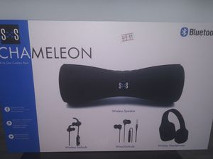 New Chameleon Bluetooth 4 in 1 Combo Set at Cricket Wireless for Sale in undefined