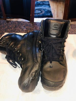 EUC Timberland Earthkeepers Mens Boots, Black Leather Work Boots, Sz 11.5 Chukka for Sale in Chicago, IL
