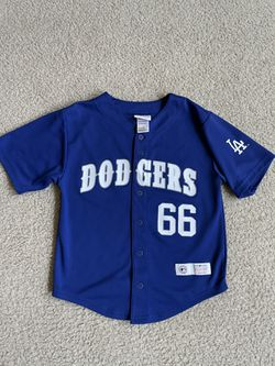 Dodgers Kids Size Jersey Puig Size 10 for Sale in Bakersfield,  CA